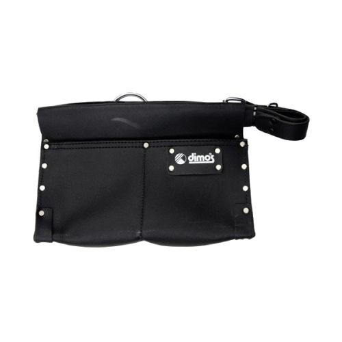 Gusset nail bag with belt - 2 pockets