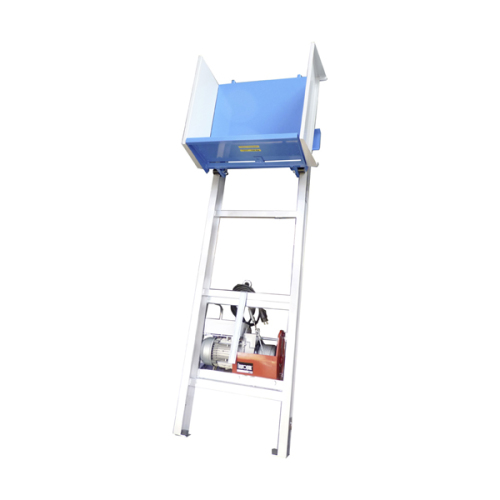 Material hoists/ scaffolding lifts 150kg - 8,5m with hinge