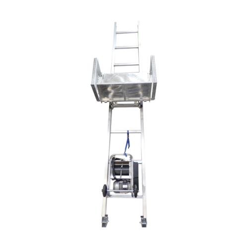 Material hoists/ scaffolding lifts 250kg - 8,5m with hinge