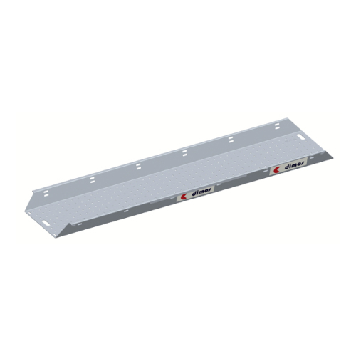 Aluminium straight platform board L 3m l 60cm with 2 integrated skirting boards