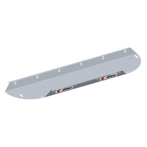 Aluminium angle platform board L 3m l 60cm with 2 integrated skirting boards