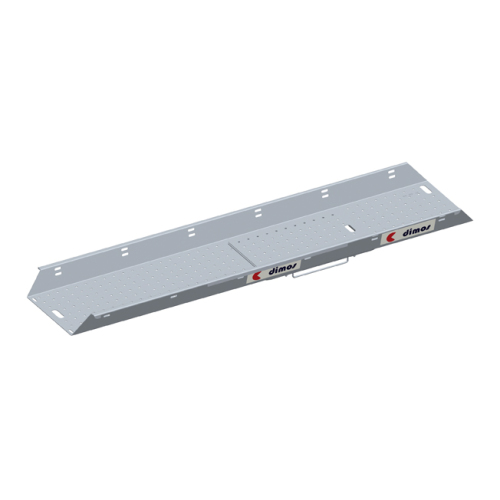 Aluminium platform board with hatch L 3m l 60cm with 2 integrated skirting board